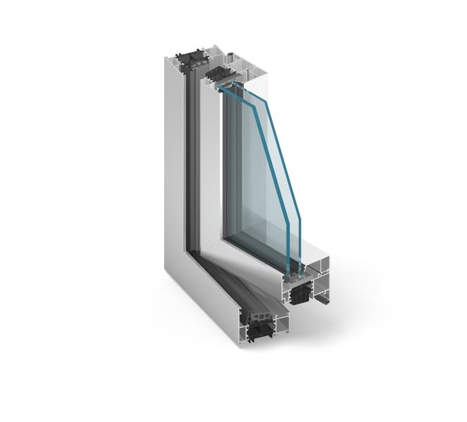 Hliníkové okná Incon Aluminium Comfort