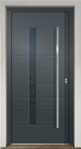 Hliníkové dverné výplne - Okná Modra
